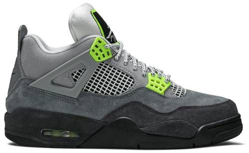 Tênis Nike Air Jordan 4 Retro SE - Neon 95
