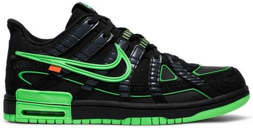 Tênis Nike Air x Off-White Rubber Dunk - Green Strike