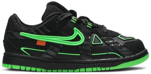 (TD) Tênis Nike Air x Off-White Rubber Dunk - Green Strike