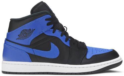 Tênis Nike Air Jordan 1 Mid - Hyper Royal