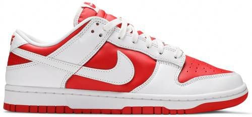 Tênis Nike Dunk Low White - University Red (2021)