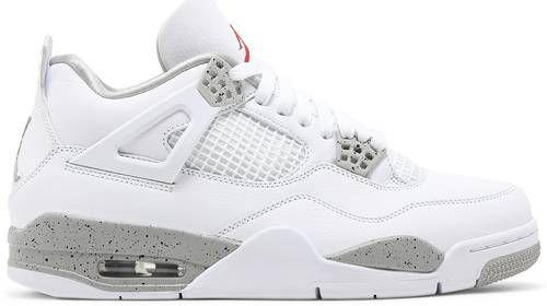 Tênis Nike Air Jordan 4 Retro - White Oreo