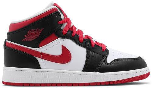 Tênis Nike Air Jordan 1 Mid - White Very Berry