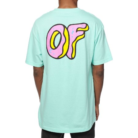 Camiseta Odd Future Pastel OF Logo - Light Blue
