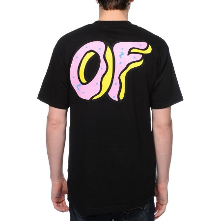 Camiseta Odd Future Donut OF - Black