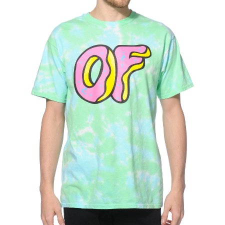 Camiseta Odd Future OF Logo Tie Dye