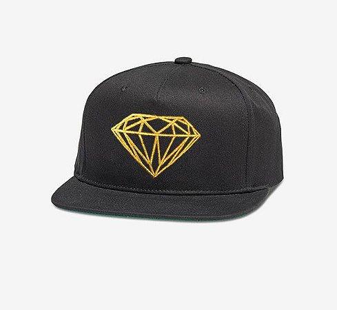 Boné Diamond Supply Co. Brilliant Radiant Gold