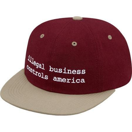 Boné Supreme Illegal Business Controls America