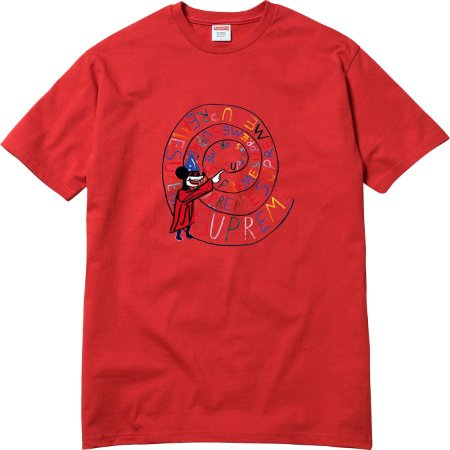 Camiseta Supreme Joe Roberts Swirl Red
