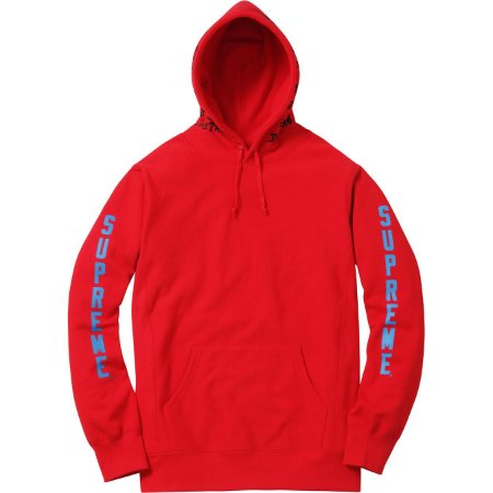 Moletom Supreme x Thrasher® Boyfriend Hooded Sweatshirt Red