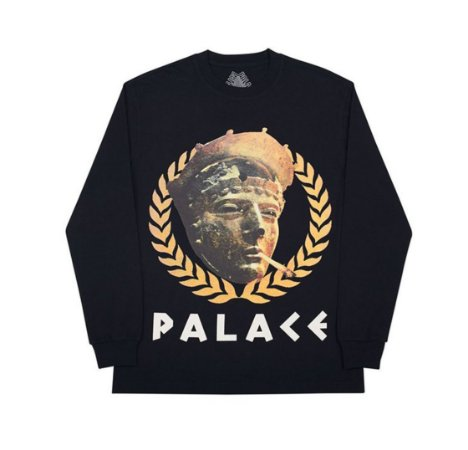 Palace Peaser Long Sleeve - Black