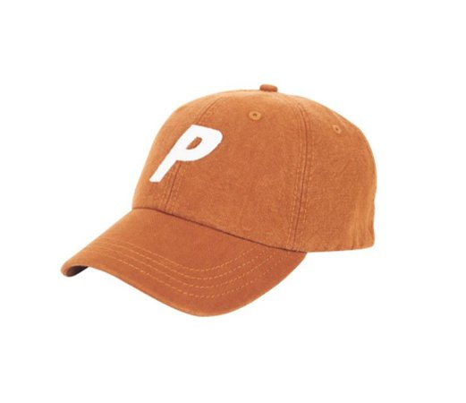 Boné 6 Panel Palace Brown Washed Canvas