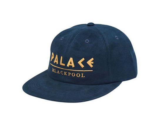 Boné 6 Panel Palace Velude BlackPool