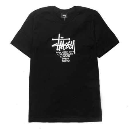 Camiseta Stussy Big Cities Black