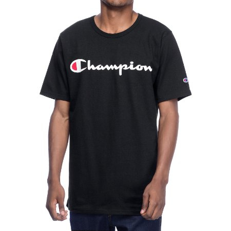 Camiseta Champion Script Black