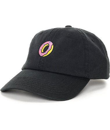Boné Odd Future Embroidered Donut - Black