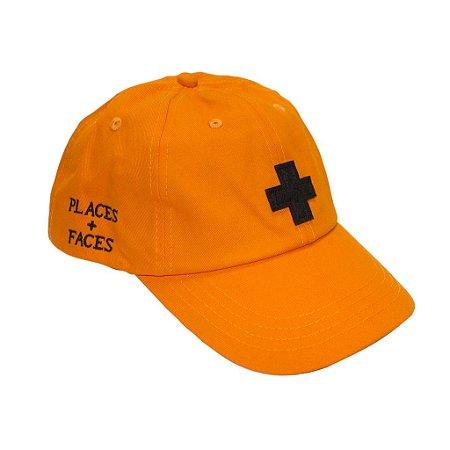 Boné Places+Faces - Orange Plus