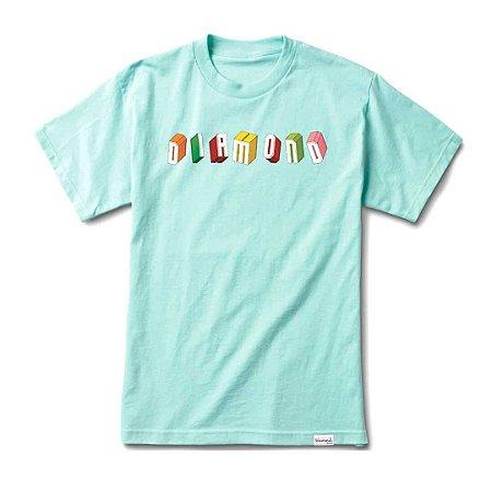 Camiseta Diamond Blocks