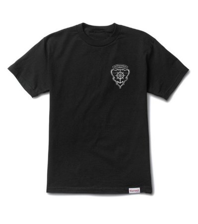 Camiseta Diamond Yacht Crest Black