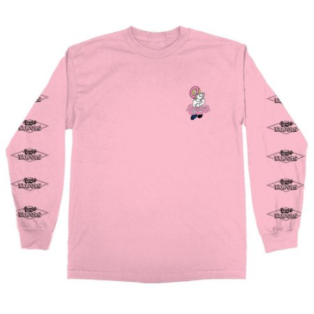 Camiseta Odd Future X Randy's Donuts Long Sleeve Pink