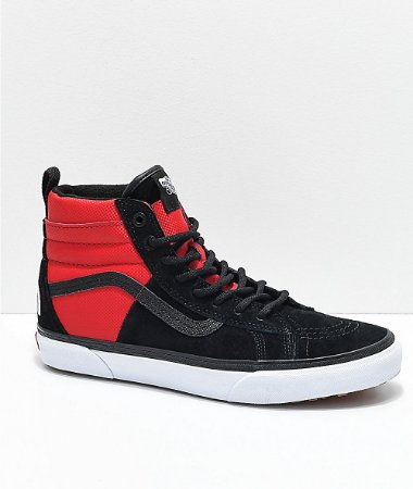 Tênis Vans x The North Face Sk8-Hi Black/Red