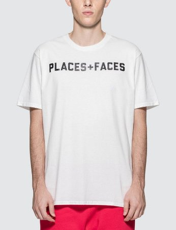 Camiseta Places+Faces Logo - White
