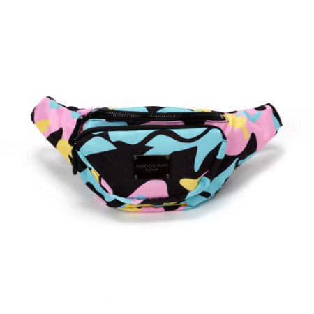 Pink Dolphin Camo Sling Bag Multi