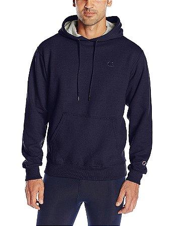 Moletom Champion Powerblend Fleece Pullover Hoodie - Navy