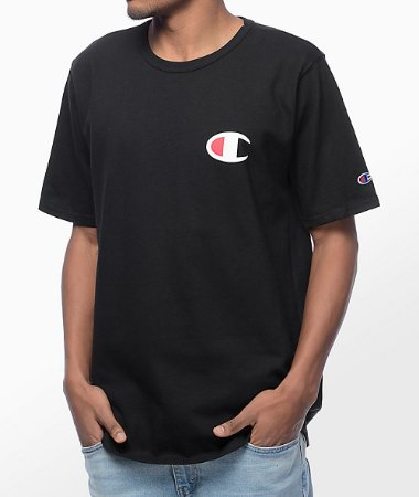 Camiseta Champion Heritage Patriotic C - Black