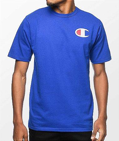 Camiseta Champion Heritage Patriotic C - Blue