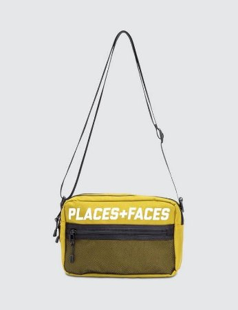Places+Faces Refletive Pouch Bag - Yellow