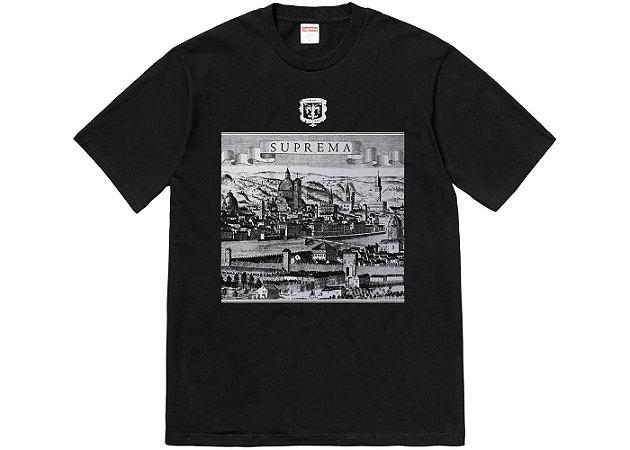 Camiseta Supreme Fiorenza - Black