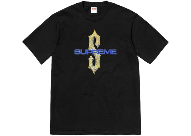 Camiseta Supreme Diamonds - Black