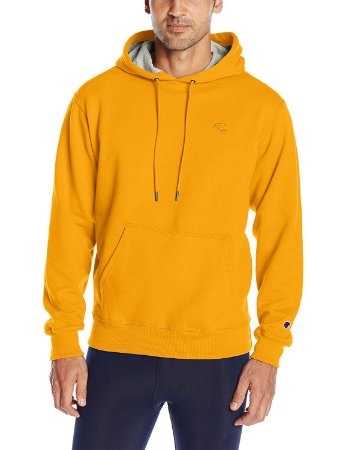 Moletom Champion Fleece Pullover - Gold