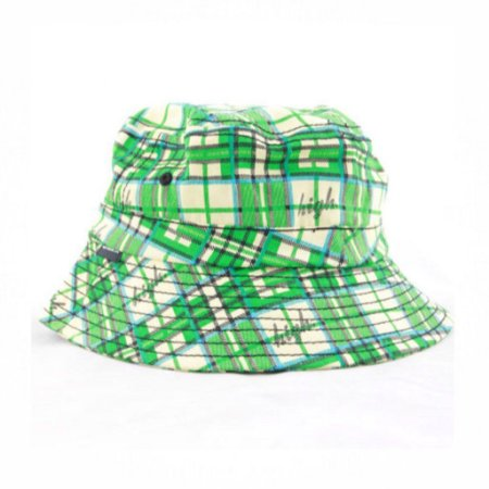 Bucket Odd Future Plaid High - Green