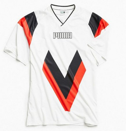 Camiseta Puma Heritage Football - White