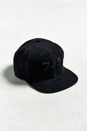 Boné FILA Japanese Corduroy Baseball - Black