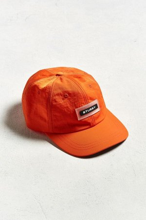 Boné Stussy Nylon Low Pro Baseball - Orange