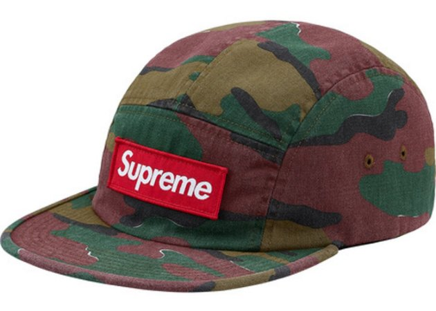 Boné Supreme Military Camp Cap Jigsaw - Camo