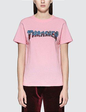 Camiseta Thrasher Rotten SS - Pink