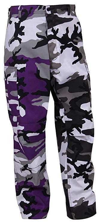 Calça Rothco Camo - Purple / Grey