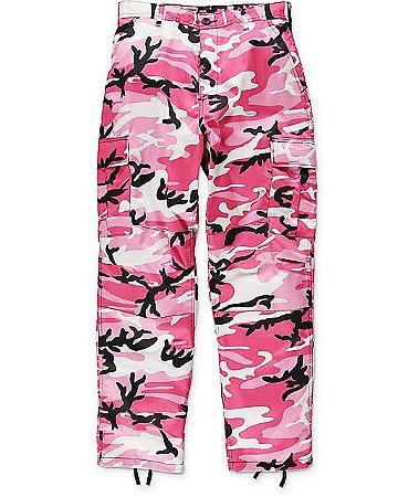 Calça Rothco Camo - Pink