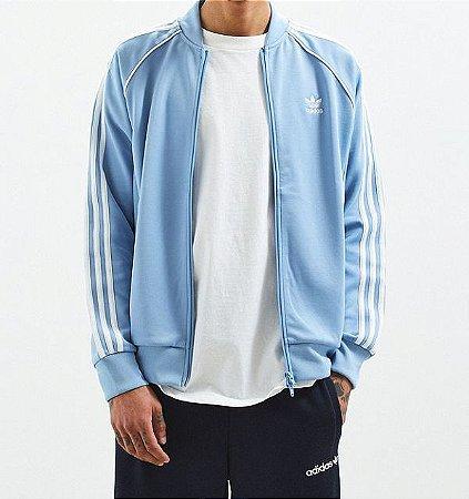 Moletom Adidas Side Stripe - Blue