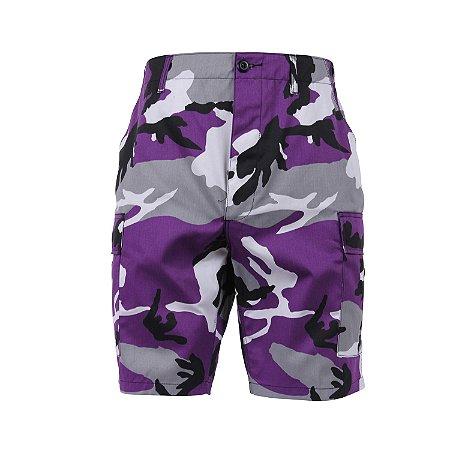 Bermuda Rothco Camo - Purple