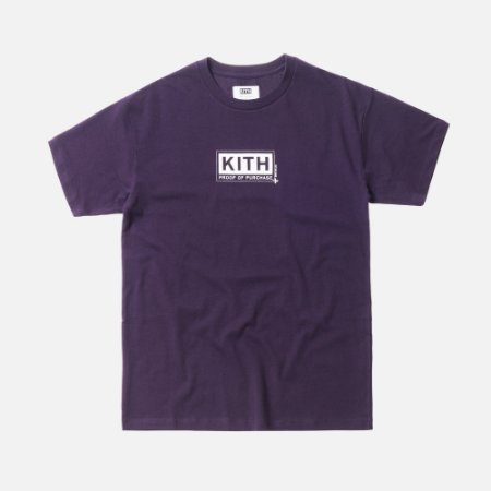 Camiseta KITH Treats Proof Of Purchase - Purple