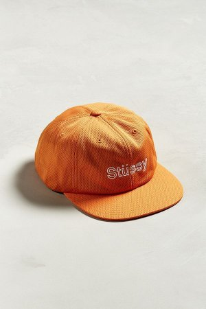 Boné Stussy Mesh Snapback - Orange