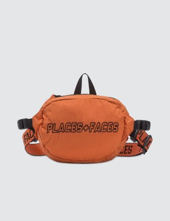 Places+Faces Pouch Bag - Orange