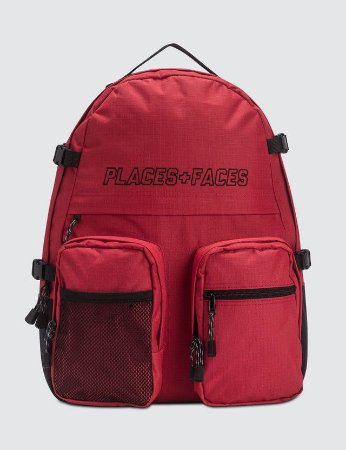 Places+Faces Backpack - Red