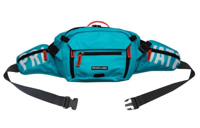 Private Label Waist/Sling Bag - Teal