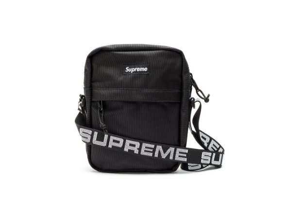 Supreme Shoulder Bag SS18 - Black